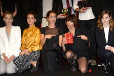 Clémence Poesy, Lola Bessis, Ana Lily Amirpour, Christine & the Queen