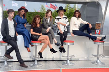 Freddie Highmore, Lola Bessis, Audrey Dana, Clémence Poesy, Christine & the Queen, Anne Berest