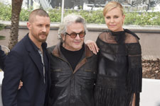 Tom Hardy, George Miller, Charlize Theron