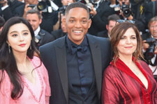 Fan Binbing, Will Smith, Agnès Jaoui