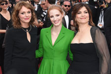 Maren Ade, Jessica Chastain, Agnes Jaoui