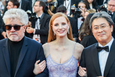 Pedro Almodovar, Jessica Chastain, Park Chan-wook