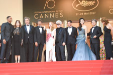 Will Smith, Agnes Jaoui, Paolo Sorrentino, Gabriel Yared, Jessica Chastain, Pedro Almodovar, Fan Bingbing, Park Chan-wook, Maren Ade