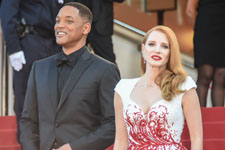 Will Smith, Jessica Chastain