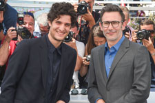 Louis Garrel, Michel Hazanavicius