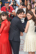 Stacy Martin, Louis Garrel, Bérénice Bejo