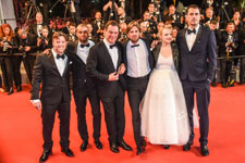 Terry Notary, Claes Bang, Elisabeth Moss, Ruben Ostlund, Christopher Laesso, Dominic West